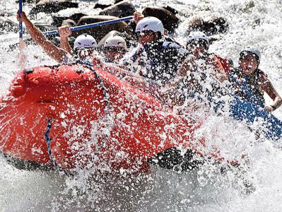 Full Day Whitewater Rafting and Wine Tasting Tour