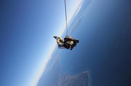 12000ft Tandem Skydiving in Taupo