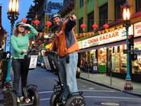 Segway Night Tour to San Franciscos Chinatown Little Italy Wharf and Waterfront