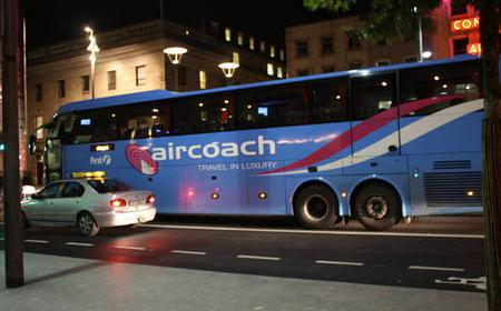 Aircoach Return Transfer & 48h Hop on-off 3 routes