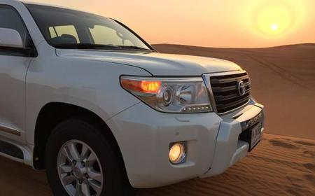 Afternoon 4X4 Dubai Desert Safari with BBQ Dinner