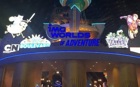 IMG Dubai Worlds Of Adventure Full-Day Tickets