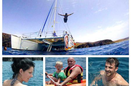 Luxury Catamaran Cruise to the Papagayo Beaches with Water Sports and Lunch