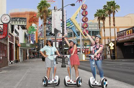 Downtown Las Vegas Segway Tour: Historic Casino District and Fremont Street