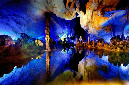 Guilin Highlight Private Tour of Giant Pandas, Reed Flute Caves, Mt. Yao, And Pearl Museum Including Lunch