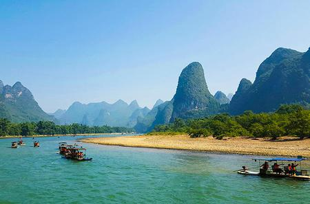 Li River Cruise Tour of Yangshuo With Jiuxian Village and Optional Yulong Bamboo Rafting