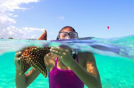 Starfish and Stingray City Adventure with Snorkeling