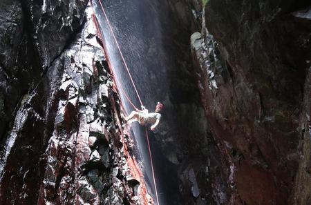 San Salvador Rainforest Ziplining and Rappelling