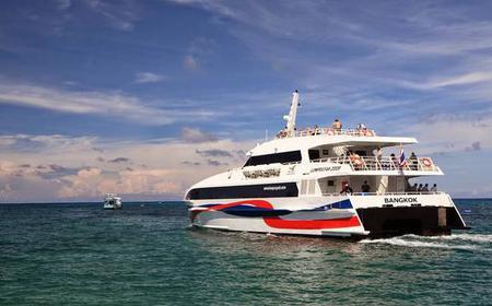 Bangkok to Koh Tao by Coach and High Speed Catamaran