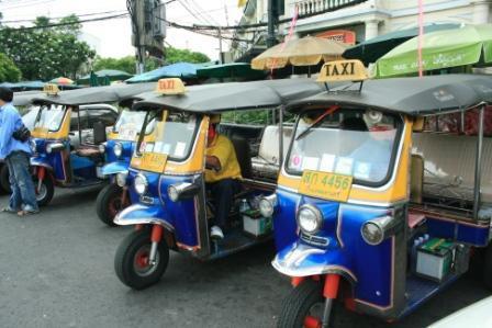 Guided Tuk Tuk Adventure in Bangkok