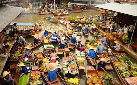 Bangkok: Damnern Saduak Floating Market