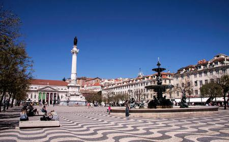 Lisbon: 1-Hour Guided Luxury Private Car Chiado Tour