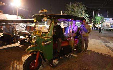 Bangkok by Night Tuk Tuk Tour: Markets, Temples & Food