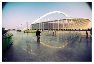 Durban at Night 3-Hour Beachfront and Stadium Bike Tour