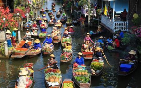 Damnern Saduak, Grand Palace & Wat Phra Keo Bangkok Tour