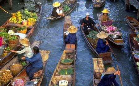 Damnoen Saduak Floating Market: Half-Day Tour from Bangkok