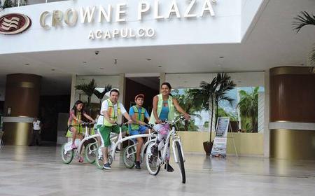 Acapulco: 3-Hour Tandem Bike History & Culinary Tour