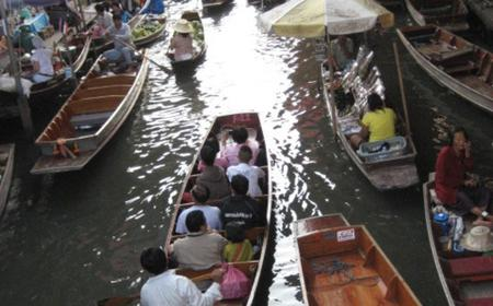 Floating Markets of Bangkok by Bicycle and Boat