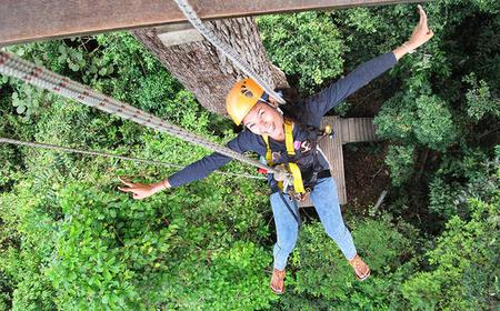 Full-Day Chonburi Eco Zip Line Adventure