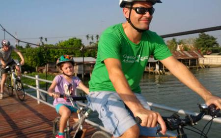 Bangkok: Full-Day Floating Market Boat and Bike Tour