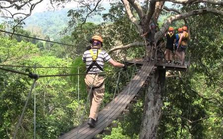 Bangkok: Flight of the Gibbons Zip Line Adventure