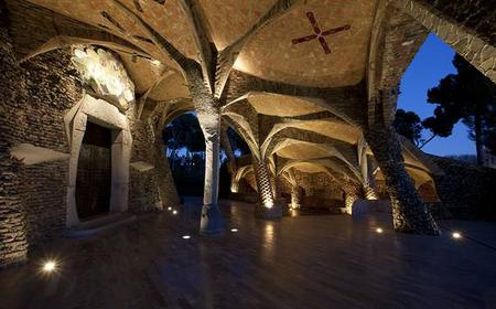 Gaudí Crypt in Colònia Güell with Audioguide