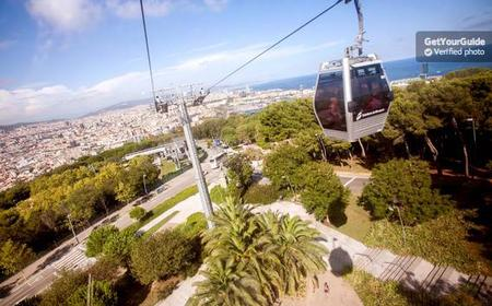 Barcelona's Montjuïc Cable Car Ride: Return Ticket