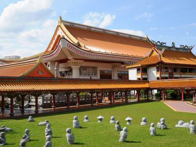 Singapore Round Island Tour with Changi Museum and Haw Par Villa