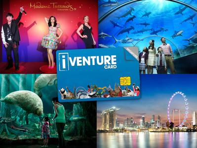 Singapore Flexi Attractions Pass - 3 or 5 tickets