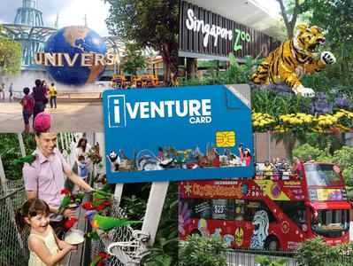 Singapore Flexi Attractions Pass  + Universal Studios Singapore Ticket