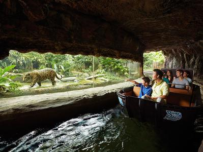 Singapore River Safari Admission Ticket with Boat Ride