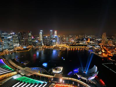 Marina Bay Singapore Night Out with Food Tasting Gardens by the Bay and Sands SkyPark