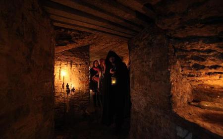 Edinburgh Spanish Ghostly Underground Vaults Night Tour