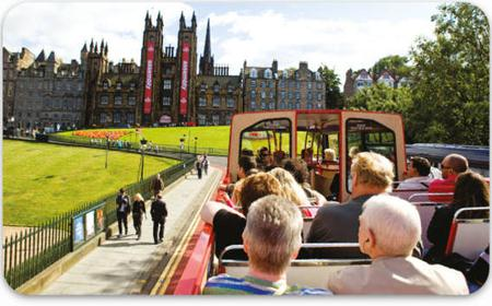 Edinburgh 48-Hour Pass: 4 Bus Tours and Boat Trip