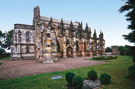 Rosslyn Chapel, Scottish Borders & Glenkinchie Distillery