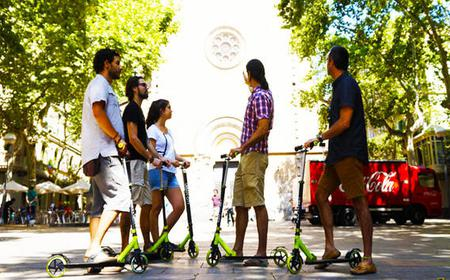 Barcelona: 3-Hour Guided Scooter Tour Through Gràcia
