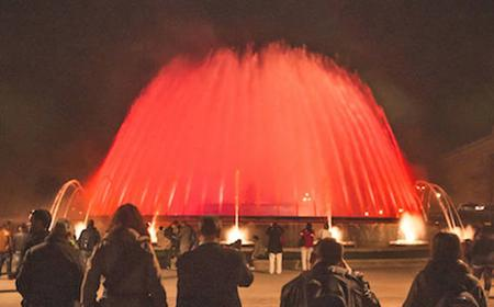 Barcelona: Montjuic Night Tour with Magical Fountains