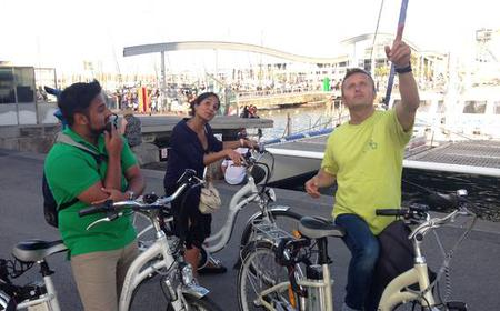 Barcelona at Sunset: 3-Hour Night Tour by Electric Bike
