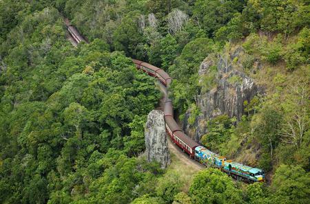 Cairns 4WD Waterfall and Rainforest Tour Including Kuranda- Skyrail or Kuranda Scenic Train