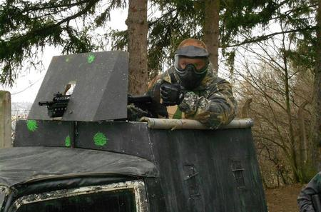 Paintball With Screenplay and Museum of Military in Prague Including Lunch