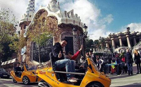 Barcelona 2.5-Hour Discover Gaudí GoCar Tour