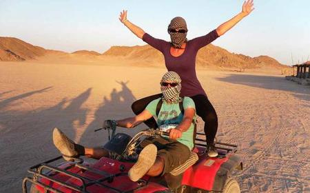 Hurghada: 3-Hour Morning Quad Safari