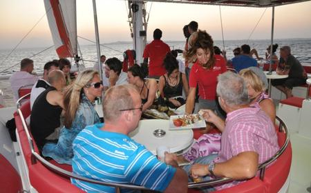El Gouna Sunset Catamaran Cruise with Champagne