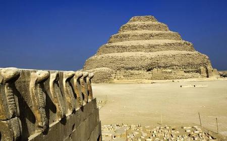 Full-Day Trip to Dahshur, Saqqara, and Giza