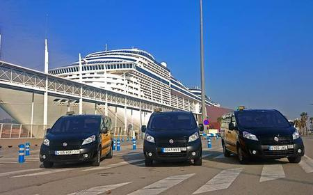 Barcelona City to Cruise Terminal Private Transfers