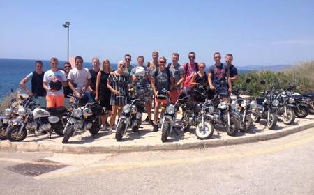 Mallorca: Mini-motorbike tour with guide