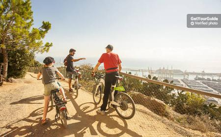 Half-Day Barcelona Tour by Electric Bike, Boat & Cable Car
