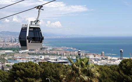 Barcelona Highlights & Montjuic Cable Car - Half-Day Tour