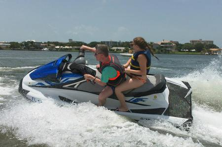 2-hour Honeymoon and Caladesi Island Jet Ski Tour from Clearwater Beach