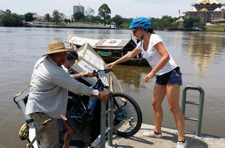 Half-Day Heritage Bike Tour in Kuching